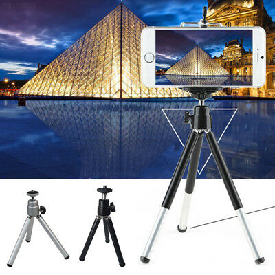 EDFC Mini 2 Section Tripod DSLR Camera Mobile Phone Stand Holder Stand Silver