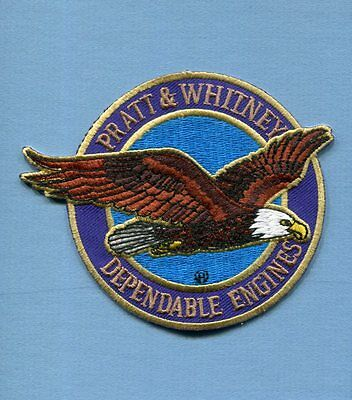 P&W PRATT & WHITNEY AIRCRAFT ENGINES US NAVY USMC USAF Aircraft Squadron Patch
