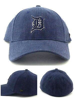 3d4805bb4 Detroit Tigers New Era 49Forty Vintage Black Label Blue Franchise Dad Hat  Cap L