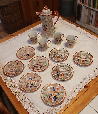 Vintage Kutani tea set HUGE SET! Made in Japan