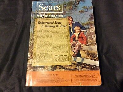 Sears Catalog - Fall / Winter 1975 - Page 602 Male Model Exposure