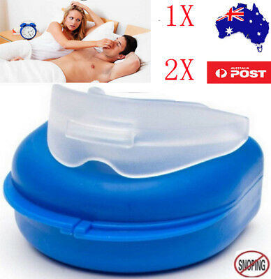 NEW Snore Stopper Anti Snoring Mouth Guard Device Sleep Aid Stop Apnea