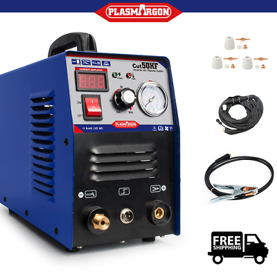 Plasma Cutter Weldres 50A Hf Inverter Cut Welding Machine 60% Duty Cycle New