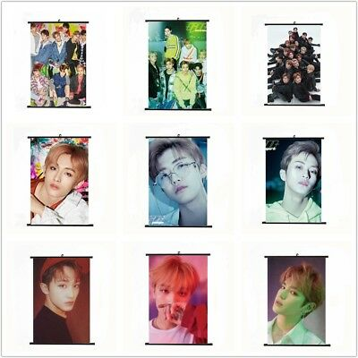 Kpop NCT U 127 2018 Dream Empathy Mini Wall Scroll Poster Fabric Hanging Photo