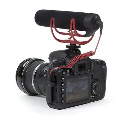 Rode VideoMic Go On-Camera Mount Rycote Lyre Interview Microphone fr Canon Nikon