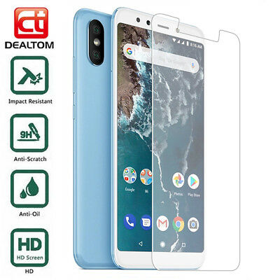 For Xiaomi Mi A2 Lite Full Coverage Tempered Glass Screen Protector Cover Film
