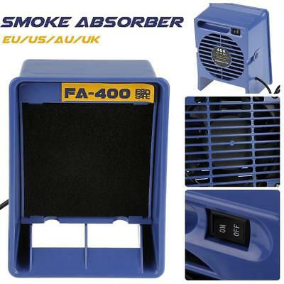 220V Smoke Excrement Welding Exhaust Anti-static Exhaust Smoker Absorber