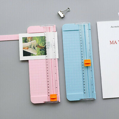 Mini A4 Precision Photo Paper Trimmer Card Craft Cutter Guillotines Ruler Blade