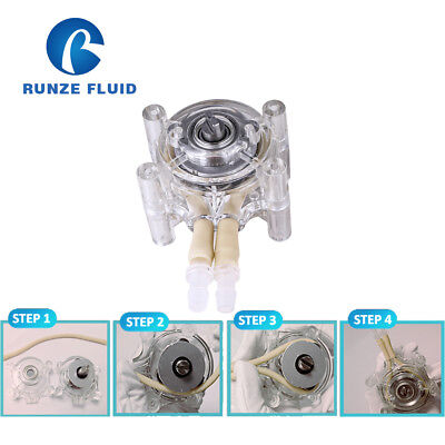 Low Cost Peristaltic Pump Head High Flow 1500ml/min Tube 18# for juice Vending