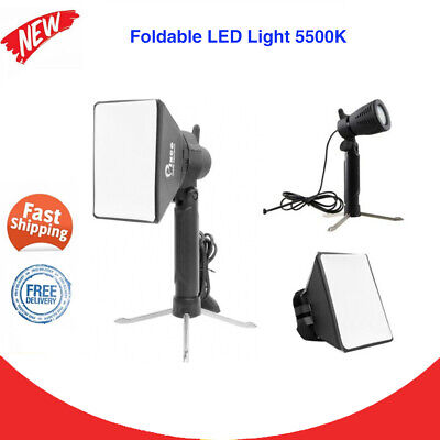 Mini Portable LED Light Kit 5500K Lamp W/ Tripod Stand + Softbox Photography New