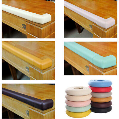 200cm Rubber Desk Wall Cupboard Edge Cover Childproof Safety Corner Protection