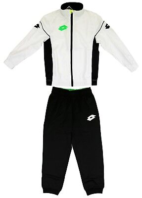 Lotto Kinder Trainingsanzug Suit Stars Evo PL Rib JR Sportanzug Joggingamzug XXS