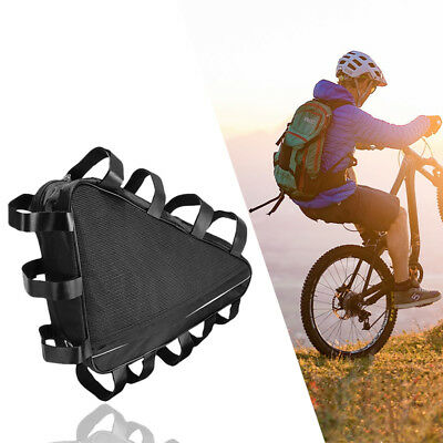 dc7e40a1ec2 Mountain Bike Triangle Frame Storage Bag Bicycle Front Tube Top Tube Pouch  Pack