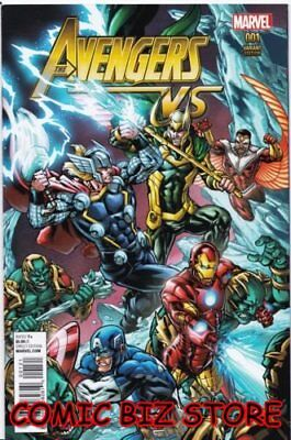 Avengers Vs #1 (2015) 1St Printing Micheal Ryan Variant Cover Bagged & Boarded