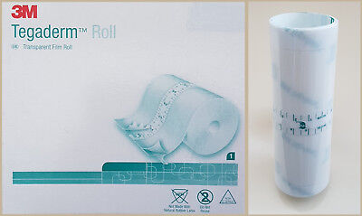 TEGADERM FILM, size 10cm x 1m. You cut to size. Tattoos/Wounds/Med/Pain patches