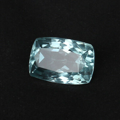 20.85 Ct Natural Aquamarine Greenish Blue Color Cushion Cut Loose Certified Gem