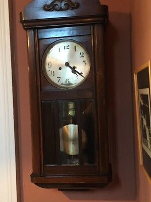 Victorian Wall Bracket Clock