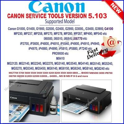Canon Reset Service Tool V5103🔑 Lifetime Activation🔑fast Email Delivery 🔥