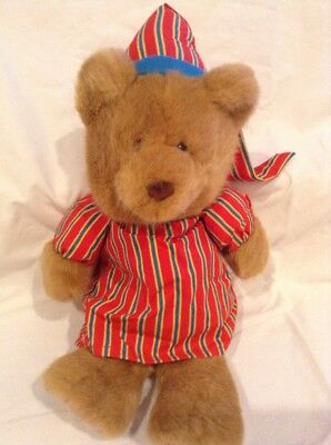 Vintage Avon Singing Teddy Bear Excelllent