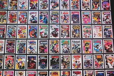 1st Covers Trading Cards II Comic Images / Marvel Comics - 1991 TRADING CARD SET