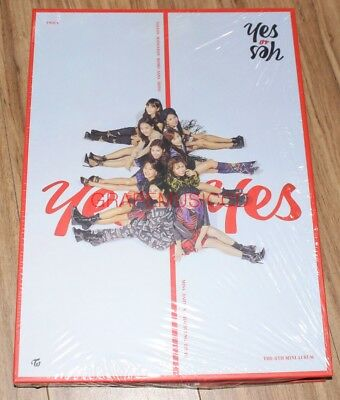 TWICE YES or YES 6th Mini Album C Ver. CD + PHOTOCARD SET + POSTER IN TUBE CASE