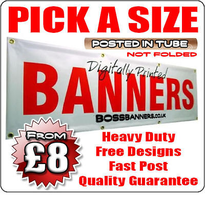 Waterproof Heavy Outdoor Pvc Banners - Printed Sign Vinyl Banner For Business