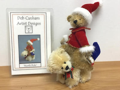 "Deb Canham, Hot Edition #3 Miniature Bear Set 4.5"" Tall - North Pole (Le#32)"