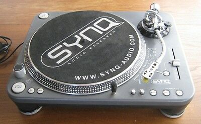 SYNQ Audio Research X.TRM.1professional high torque turntable.perfect.