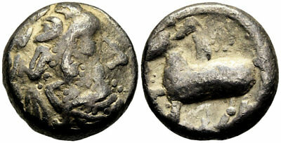 FORVM VF Danubian Celts Tetradrachm 2nd C. BC Imitative of Philip II of Macedon