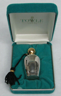 Wonderful Towle Sterling Silver Perfume Flask New In Box #871