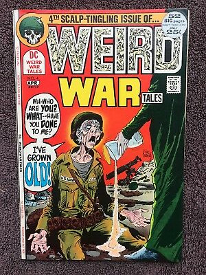 Weird War Tales 4 VF 1972 Kubert cover