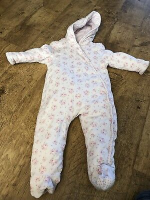 Clothing, Shoes & Accessories Baby & Toddler Clothing Snowsuit Pramsuit Girls 9-12 Months Boots