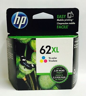 HP Genuine 62XL Clr Ink Cartridge HP ENVY 5540,5643,5542,5544,5640,5642,