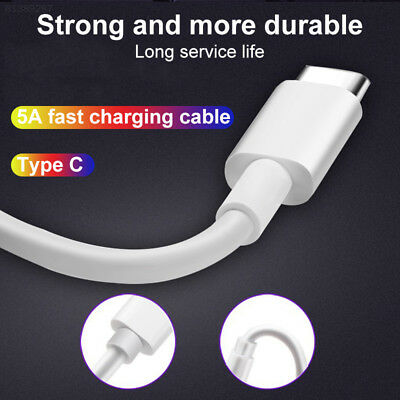 BD7D USB USB-C Type C Fast Sync Charger Cable Data Cord for Samsung S9 S8 HTC 10