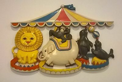 Adorable Baby/kids/child  Room  Animals Wall Plague/ Wall Decor/hanging   Nwot