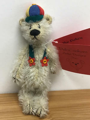 "Deb Canham, Woebe's Collection 4"" Teddy Bear - Oke Dokey  (Le#53/1500)"