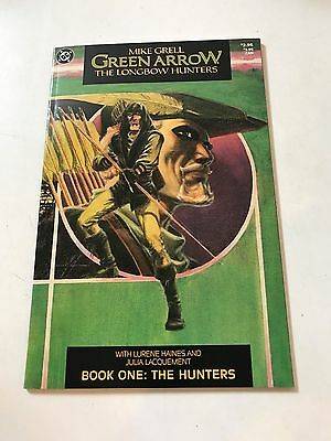 Green Arrow: The LongBow Hunters #1 - 3 complete run.VF/ NM DC Comics Mike Grell