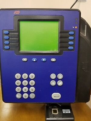 ADP 4500 Time Clock by Kronos With BIOMETRIC Quick Punch - USED