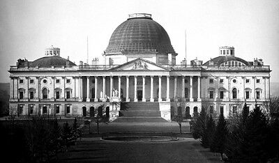 11x19 Photo Poster: United States Capitol Building in Washington, D.C., 1846