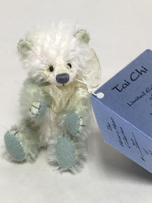 "Deb Canham Have A Heart Collection Miniature Teddy Bear ""tai Chi"" 70/1000"