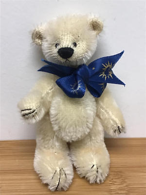 "Unidentified 3.75"" Miniature Teddy Bear - Probably Deb Canham"