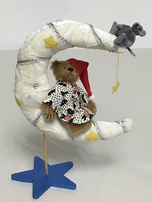 Deb Canham Diddle Fiddle & The Moon Miniature Bear & Mouse Set