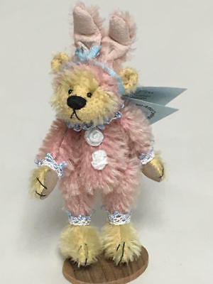 Deb Canham Hold Your Heart Collection Miniature Bear In Bunny Suit Fru Fru