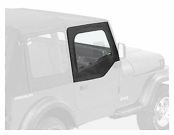 black denim soft top upper skins 88 95 for jeep wrangler 223 24 Jeep Roll Bar Covers bestop fabric replacement door skins 88 95 jeep wrangler yj black denim 53120 15