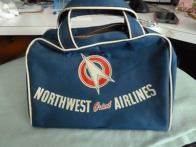 Vintage Northwest Orient Airlines carry on bay