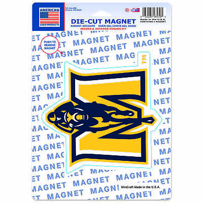 """Murray State Racers Official NCAA 6"""" x 9"""" Car Refrigerator Magnet 6x9 Wincraft"""