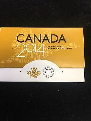 2014 Canada 6 Coin Uncirculated Set! Great Set