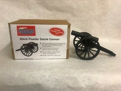 Kennesaw Cannons Salute Field Cannon