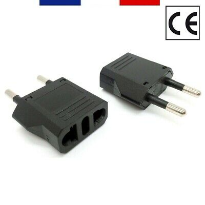 Adaptador De Enchufe Usa Japón China Lombrices Francia Fr Europa Eu (Norma Ce)