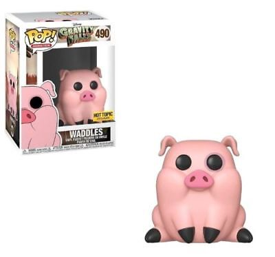 Funko Pop Gravity Falls # 490 - Waddles - Hot Topic Exclusive - New & In Stock